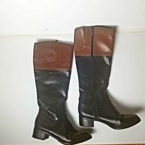 Etienne Aigner Chastity riding boots size 7.5M